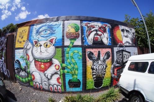 Makaton's Footscray station mural